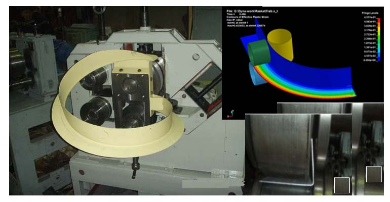 FEA of Manufacturing of a Ring-Type Part