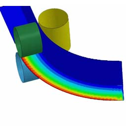 FEA of RING-TYPE PART